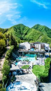 A view of the pool at Ròseo Euroterme Wellness Resort or nearby