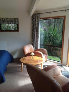 A seating area at Lakehouse Studio