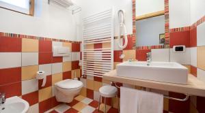 A bathroom at Hotel Alegra