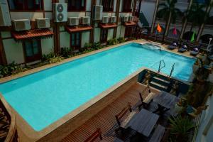 Vista de la piscina de Chanthapanya Hotel o alrededores