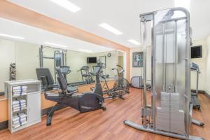 The fitness center and/or fitness facilities at Days Inn by Wyndham Americus