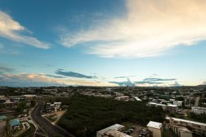 A bird's-eye view of Onward Beach Resort