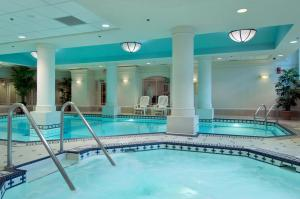 The swimming pool at or near The Fairmont Palliser