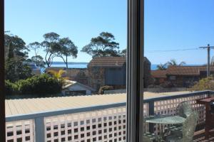 A balcony or terrace at Beach Shack on Calton