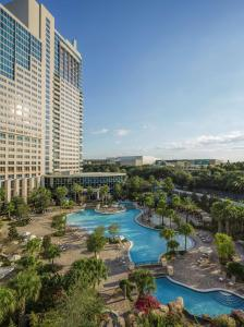 A view of the pool at Hyatt Regency Orlando or nearby
