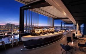 A restaurant or other place to eat at Hyatt Regency Sydney