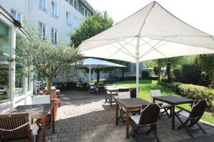 A restaurant or other place to eat at Hansa Apart-Hotel Regensburg