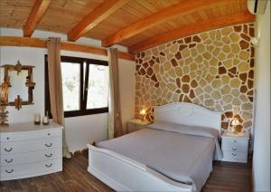 A bed or beds in a room at B&B Gianni e Pia