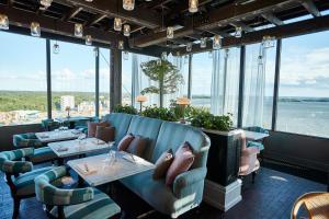 En restaurang eller annat matställe på Steam Hotel
