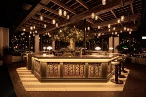 Loungen eller baren på Steam Hotel