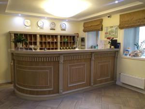 El vestíbulo o zona de recepción de Hotel Starosadskiy