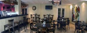 En restaurang eller annat matställe på Don Alfredo