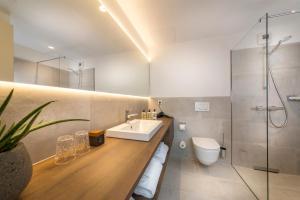 A bathroom at Hotel Melchior Park