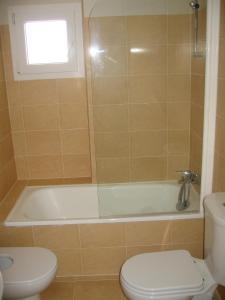 Un baño de Apartamentos Punta Cormoran
