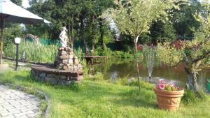 Сад в Трактир Зеркальный Карп