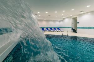 The swimming pool at or near Hotel Jezero