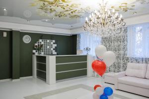 Лобби или стойка регистрации в Мини-гостиница Пелысь