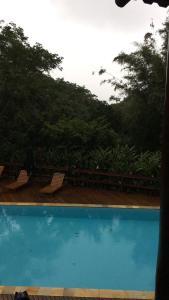 The swimming pool at or near Casa Pauba