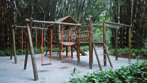 Children's play area at Casa Pauba