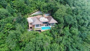 منظر Korsiri Villas من الأعلى