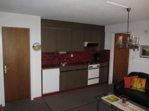 Кухня или мини-кухня в Ferienwohnung Frei