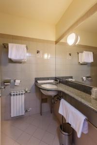 A bathroom at Hotel Plitvice