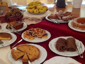 Breakfast options available to guests at Hotel Europa