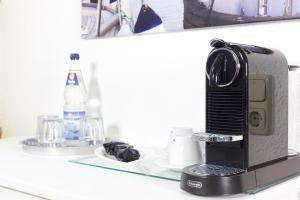 Kaffee-/Teezubehör in der Unterkunft Pfannkuchenhaus Fehmarn