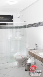 Um banheiro em Hotel São Lázaro