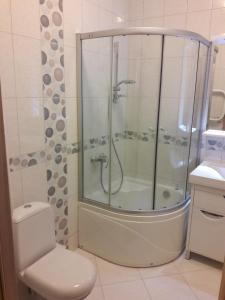 Ванная комната в Апартаменты Гармония