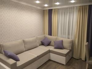 Гостиная зона в Apartment on Litovskii Val
