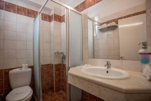 Ванная комната в Popi Star