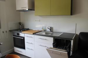 A kitchen or kitchenette at Ter Voeren Studio
