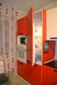 Кухня или мини-кухня в Borkenhof Inn