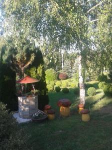 A garden outside Holiday Home Nina Petrinja