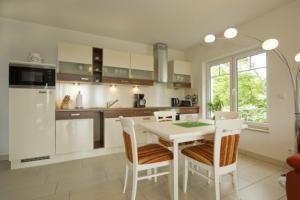 Küche/Küchenzeile in der Unterkunft Haus Ostseeblick