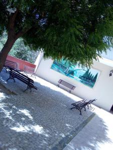 The swimming pool at or near Aquarela Palace Hotel