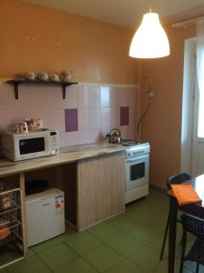 "Kuchnia lub aneks kuchenny w obiekcie Apartments ""Ruso Turisto"""