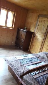 Postel nebo postele na pokoji v ubytování Chalupa JANINA