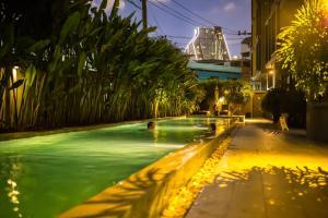 The swimming pool at or near iSanook Bangkok