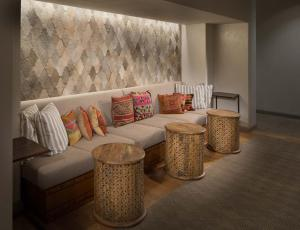 Un lugar para sentarse en Hotel Valencia Riverwalk