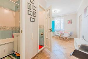 Ванная комната в Kvartira na Engelsa 138