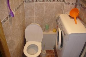 A bathroom at Apartment in Centre on Andreya Gubina