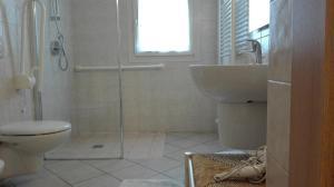A bathroom at Valle Rillo Agriturismo