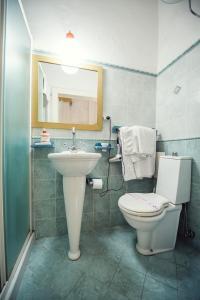 A bathroom at Bed & Breakfast La Torre
