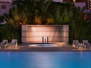 The swimming pool at or close to The Standard Miami