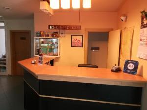 Lobby/Rezeption in der Unterkunft Hotel Galant