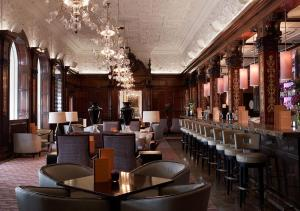 The lounge or bar area at Grand Hôtel Stockholm