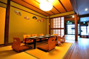 A restaurant or other place to eat at Miyabi-an