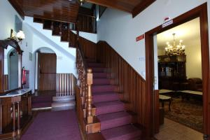 The lobby or reception area at Residencial Sra. da Lomba